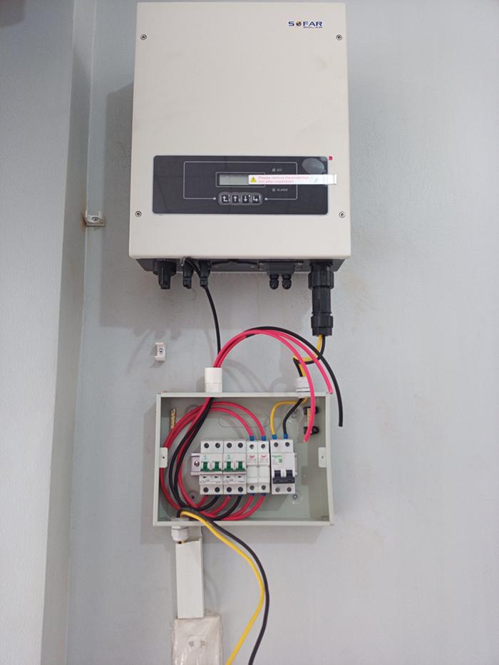 Dự án điện mặt trời hòa lưới 5KW cho anh Minh ở Bình Dương 6