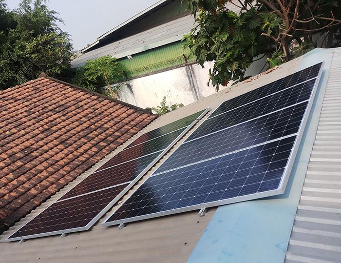 Dự án điện năng lưới mặt trời hòa lưới 3KWp cho anh Khánh ở Hóc Môn 2
