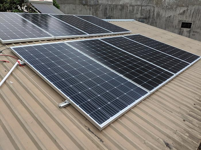 Dự án điện năng lưới mặt trời hòa lưới 3KWp cho anh Khánh ở Hóc Môn 4