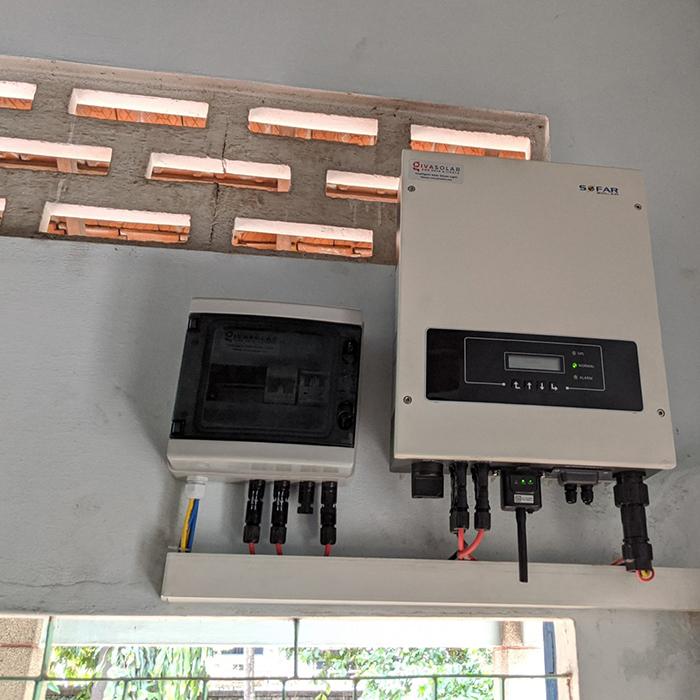 Dự án điện năng lưới mặt trời hòa lưới 3KWp cho anh Khánh ở Hóc Môn 5