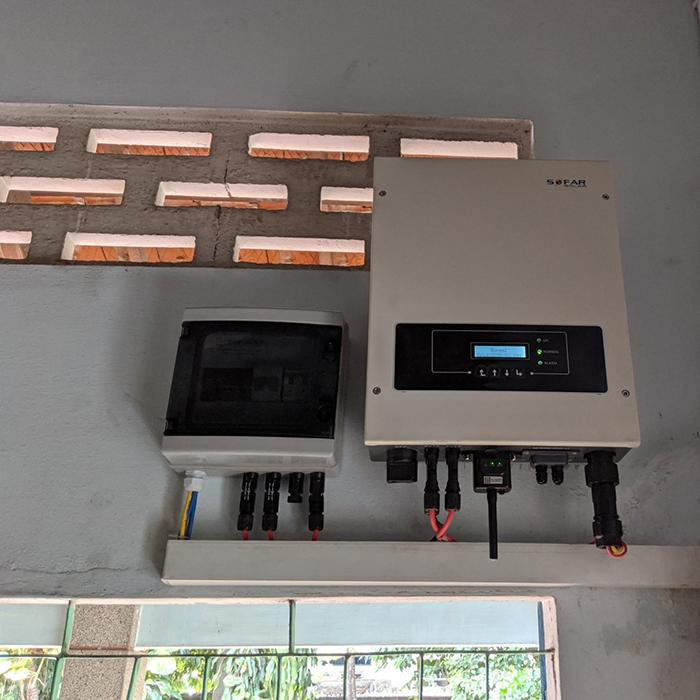 Dự án điện năng lưới mặt trời hòa lưới 3KWp cho anh Khánh ở Hóc Môn 6