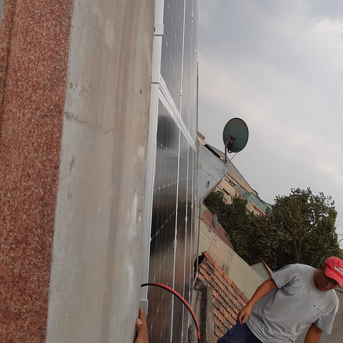 lắp đặt hệ thống 3KW hòa lưới cho anh Để ở Biên Hòa 4