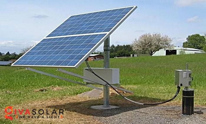Điện mặt trời kết hợp với Nông Nghiệp 1