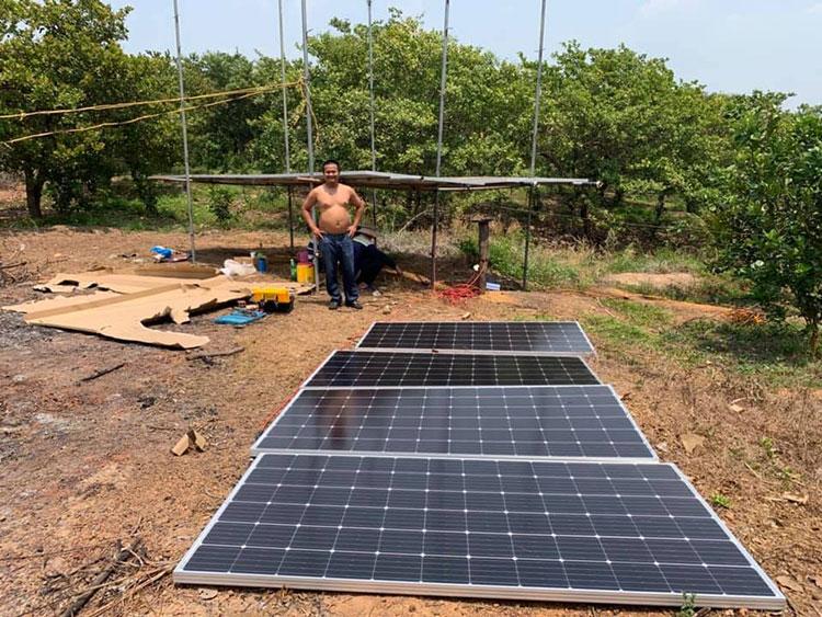 Điện mặt trời kết hợp với Nông Nghiệp 4