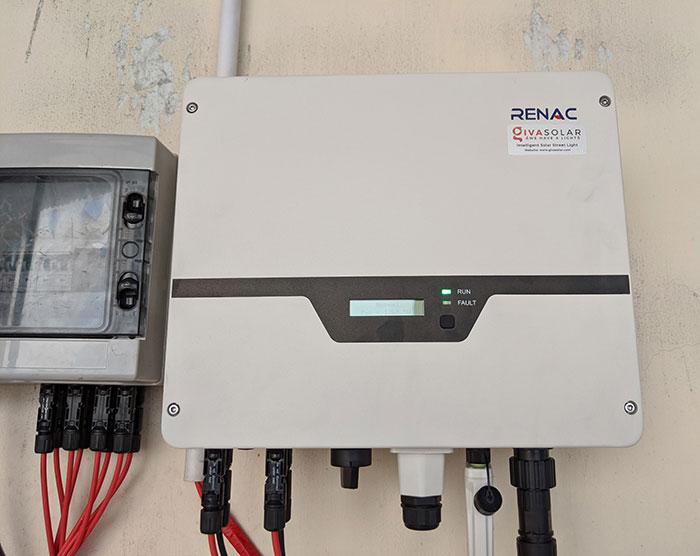 hệ thống điện mặt trời hòa lưới 10KW cho anh Mạnh ở Củ Chi 10