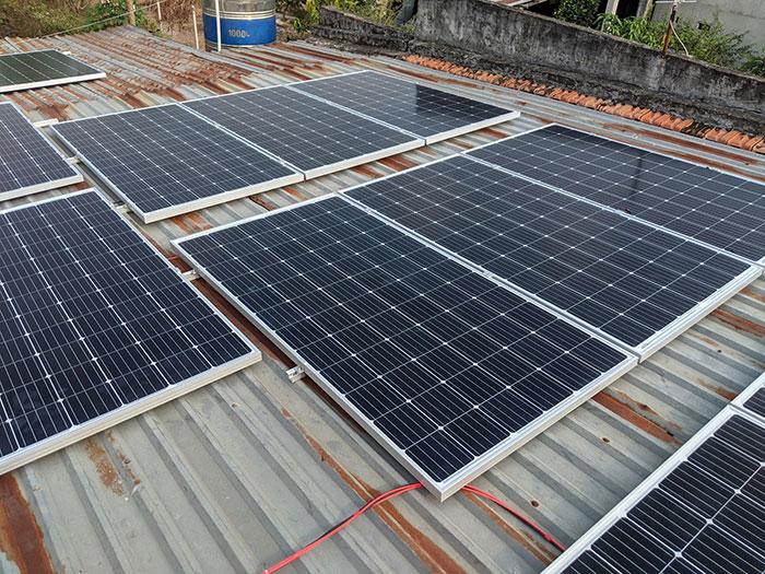 hệ thống điện mặt trời hòa lưới 10KW cho anh Mạnh ở Củ Chi 3