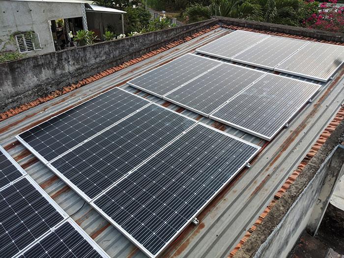 hệ thống điện mặt trời hòa lưới 10KW cho anh Mạnh ở Củ Chi 5