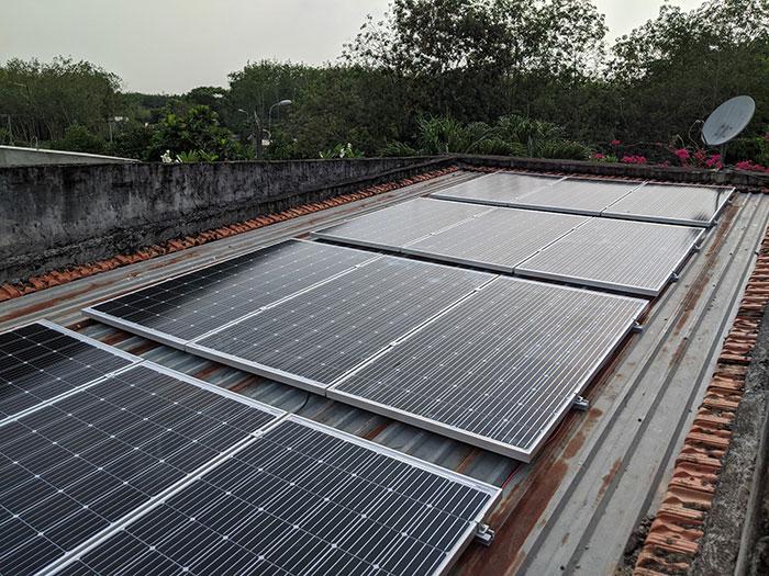 hệ thống điện mặt trời hòa lưới 10KW cho anh Mạnh ở Củ Chi 6
