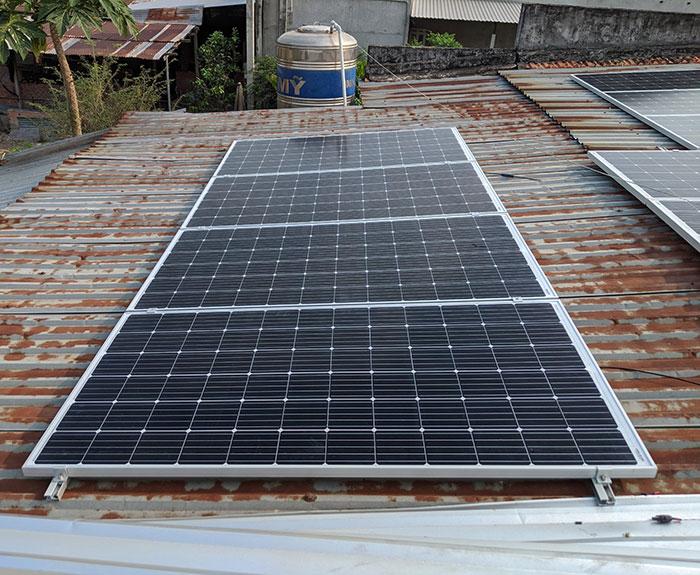 hệ thống điện mặt trời hòa lưới 10KW cho anh Mạnh ở Củ Chi 7