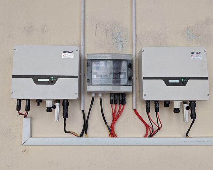 hệ thống điện mặt trời hòa lưới 10KW cho anh Mạnh ở Củ Chi 8