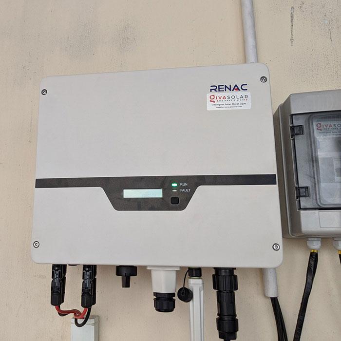 hệ thống điện mặt trời hòa lưới 10KW cho anh Mạnh ở Củ Chi 9