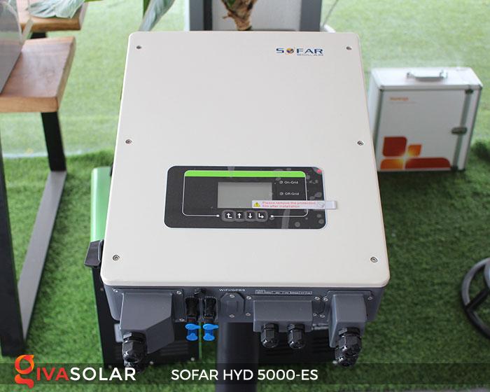 Inverter hòa lưới có lưu trữ Sofar HYD 5000-ES 1