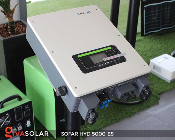 Inverter hòa lưới có lưu trữ Sofar HYD 5000-ES 2