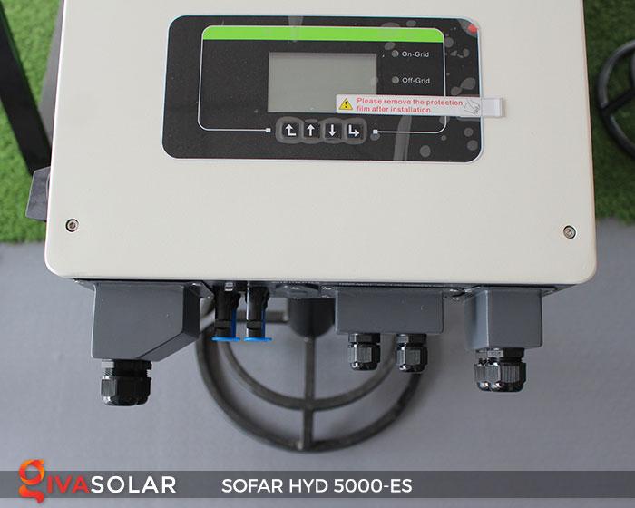 Inverter hòa lưới có lưu trữ Sofar HYD 5000-ES 5