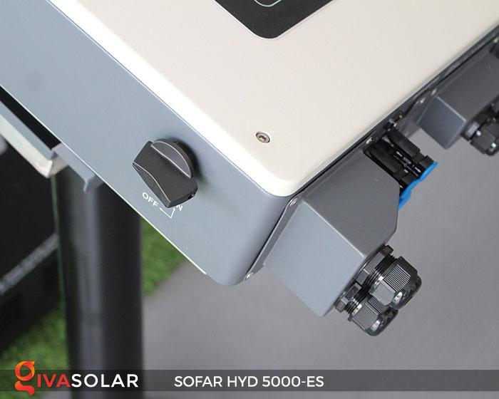 Inverter hòa lưới có lưu trữ Sofar HYD 5000-ES 6