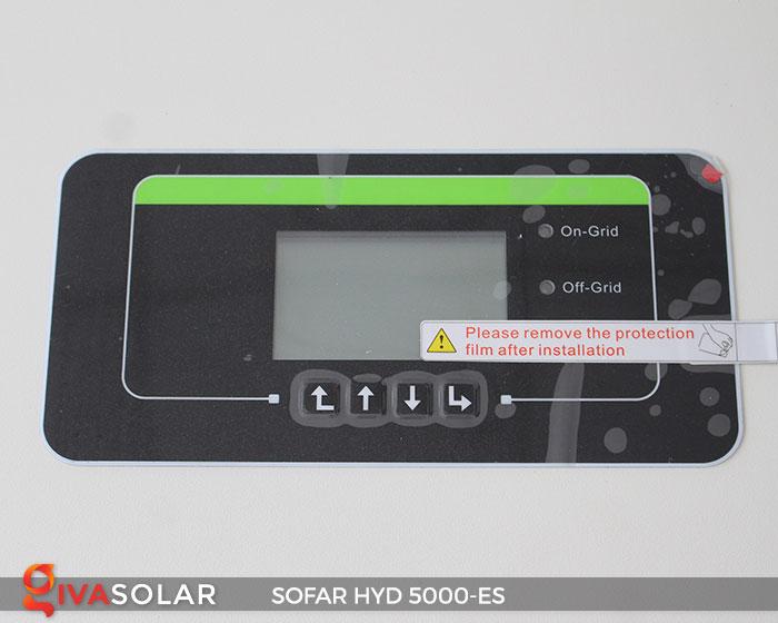 Inverter hòa lưới có lưu trữ Sofar HYD 5000-ES 8