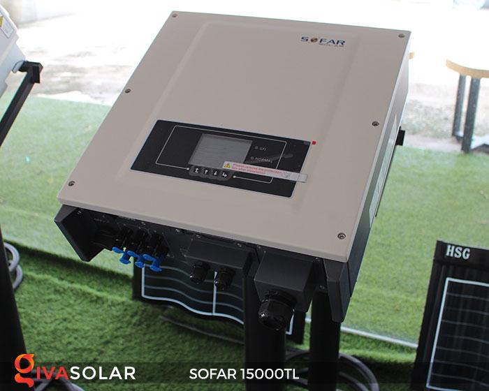 Inverter hòa lưới điện mặt trời Sofar 15000TL 2