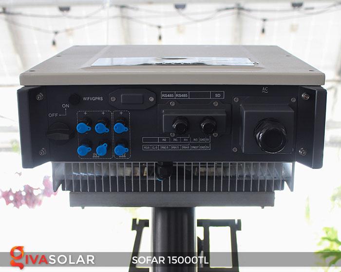 Inverter hòa lưới điện mặt trời Sofar 15000TL 3