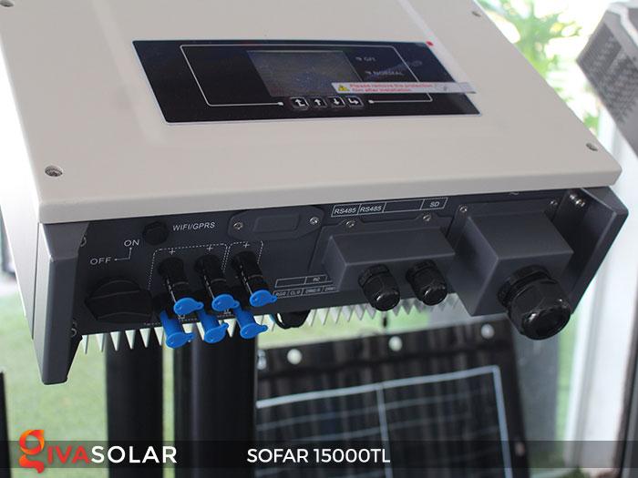 Inverter hòa lưới điện mặt trời Sofar 15000TL 5