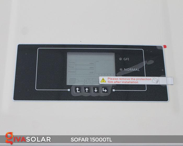 Inverter hòa lưới điện mặt trời Sofar 15000TL 7