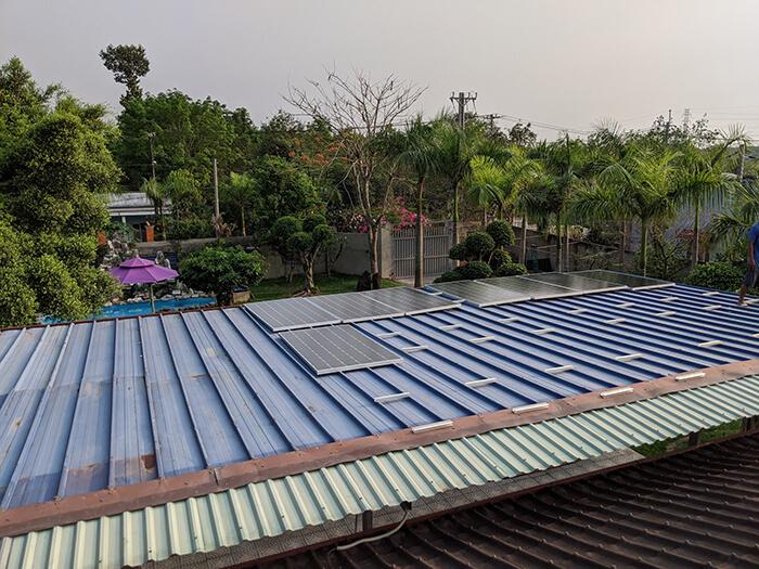 Lắp đặt điện mặt trời 30KW cho công ty Thụ Viện ở Củ Chi 10