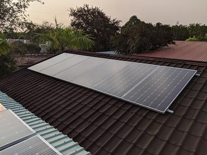 Lắp đặt điện mặt trời 30KW cho công ty Thụ Viện ở Củ Chi 13