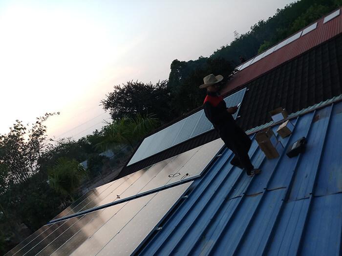 Lắp đặt điện mặt trời 30KW cho công ty Thụ Viện ở Củ Chi 16