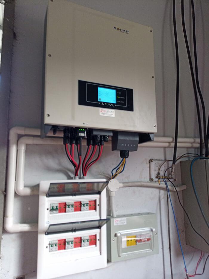 Lắp đặt điện mặt trời 30KW cho công ty Thụ Viện ở Củ Chi 19