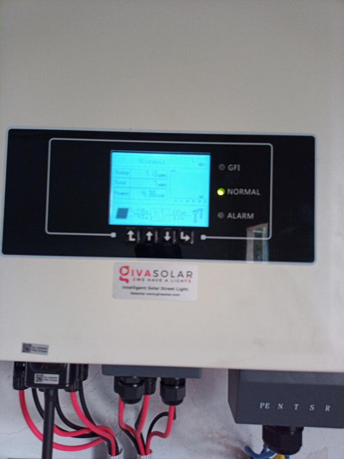 Lắp đặt điện mặt trời 30KW cho công ty Thụ Viện ở Củ Chi 20
