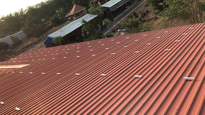 Lắp đặt điện mặt trời 30KW cho công ty Thụ Viện ở Củ Chi 3