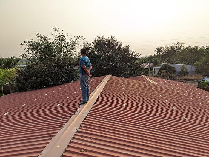 Lắp đặt điện mặt trời 30KW cho công ty Thụ Viện ở Củ Chi 4