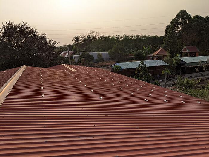 Lắp đặt điện mặt trời 30KW cho công ty Thụ Viện ở Củ Chi 5