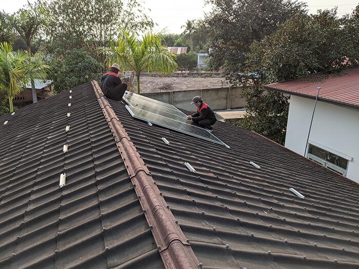Lắp đặt điện mặt trời 30KW cho công ty Thụ Viện ở Củ Chi 7