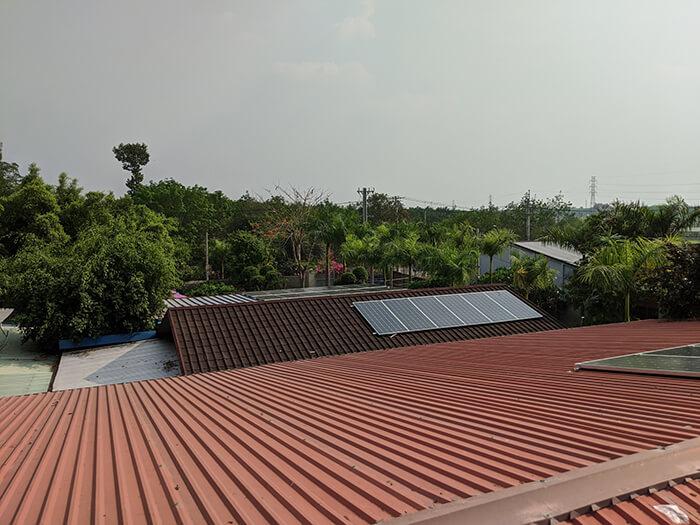 Lắp đặt điện mặt trời 30KW cho công ty Thụ Viện ở Củ Chi 8