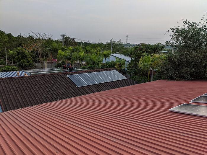 Lắp đặt điện mặt trời 30KW cho công ty Thụ Viện ở Củ Chi 9