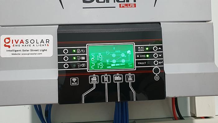 Lắp đặt hệ thống điện mặt trời độc lập 3KW cho anh Linh ở Long An 12
