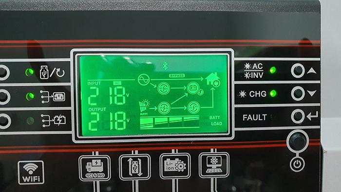 Lắp đặt hệ thống điện mặt trời độc lập 3KW cho anh Linh ở Long An 13