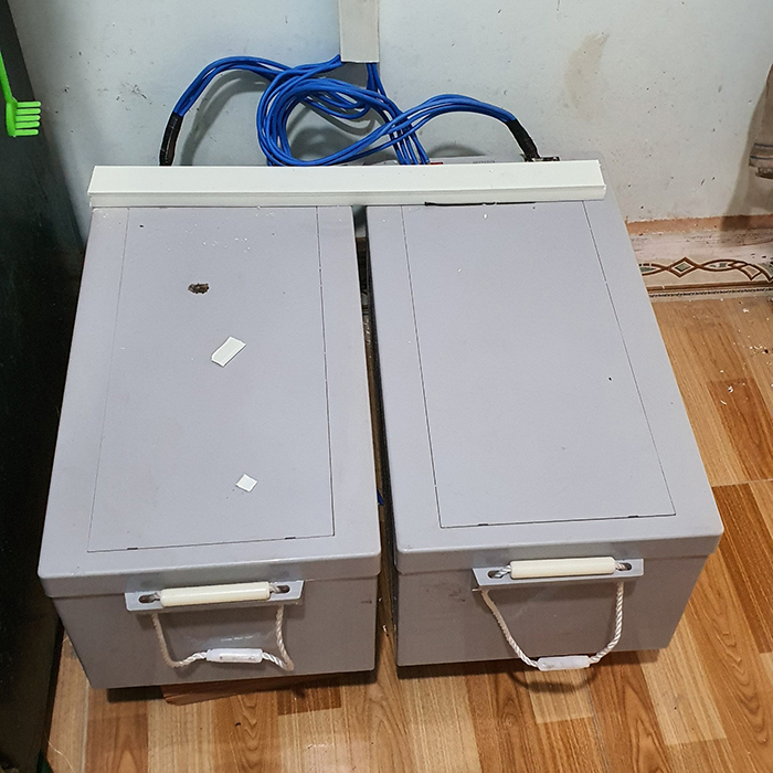 Lắp đặt hệ thống điện mặt trời độc lập 3KW cho anh Linh ở Long An 15