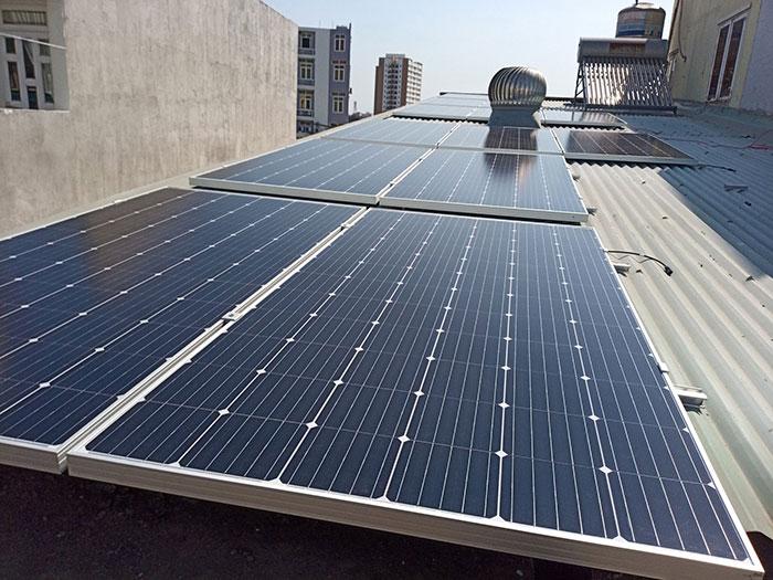 Lắp đặt năng lượng mặt trời hòa lưới 5KW cho anh Linh ở Thủ Đức 1