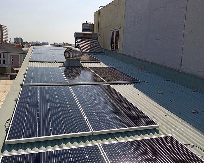 Lắp đặt năng lượng mặt trời hòa lưới 5KW cho anh Linh ở Thủ Đức 3