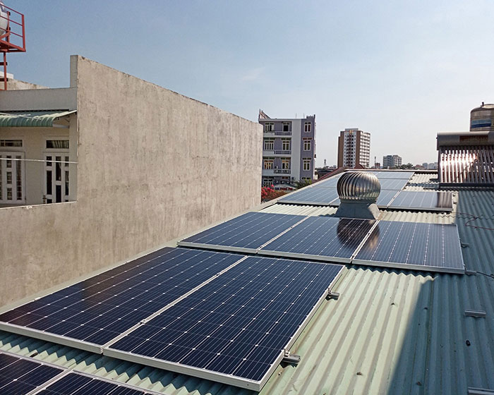 Lắp đặt năng lượng mặt trời hòa lưới 5KW cho anh Linh ở Thủ Đức 5