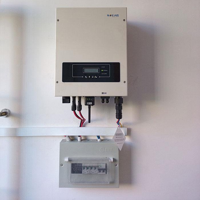 Lắp đặt năng lượng mặt trời hòa lưới 5KW cho anh Linh ở Thủ Đức 6