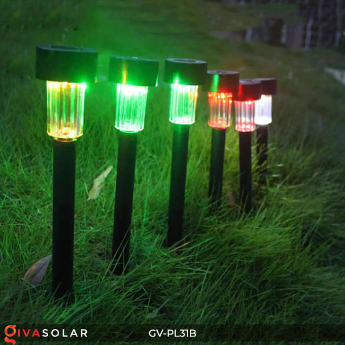 Đèn Led cắm đất trang trí năng lượng mặt trời mini GV-PL31B 10