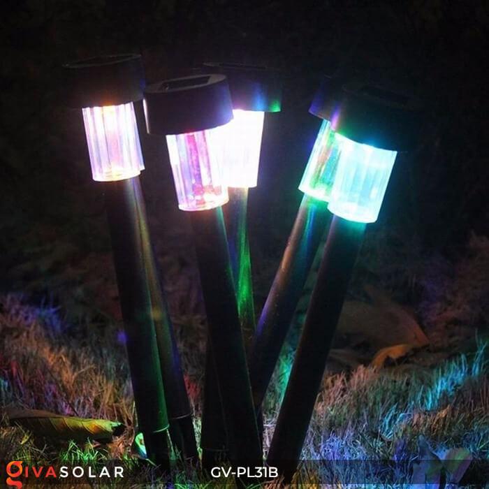 Đèn Led cắm đất trang trí năng lượng mặt trời mini GV-PL31B 7