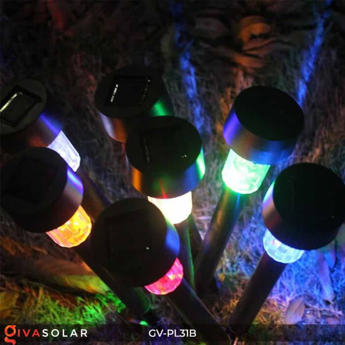 Đèn Led cắm đất trang trí năng lượng mặt trời mini GV-PL31B 9
