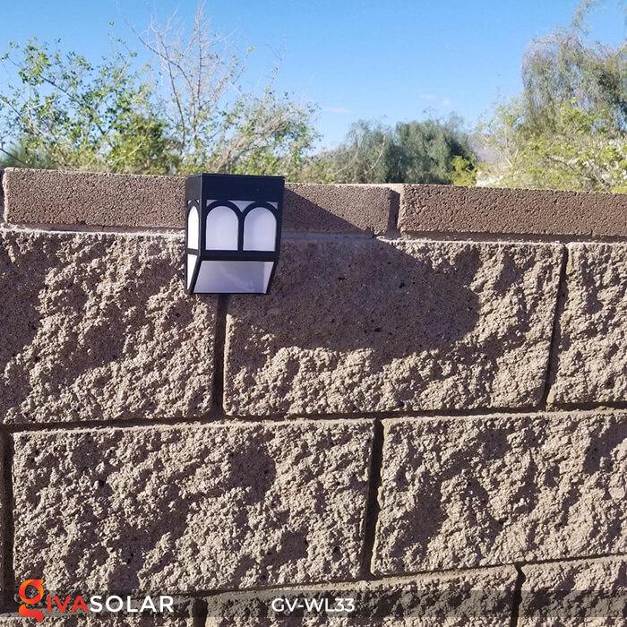 Đèn gắn tường trang trí năng lượng mặt trời GV-WL33 11