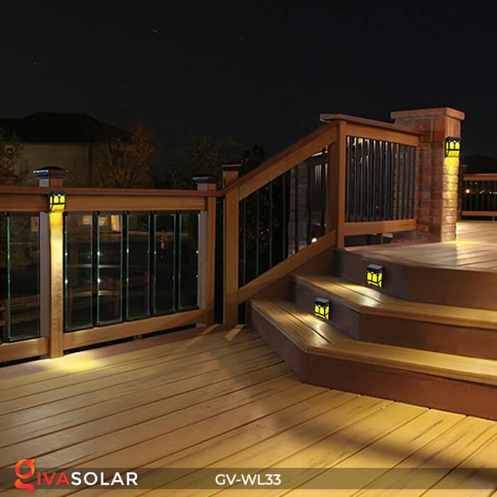 Đèn gắn tường trang trí năng lượng mặt trời GV-WL33 13
