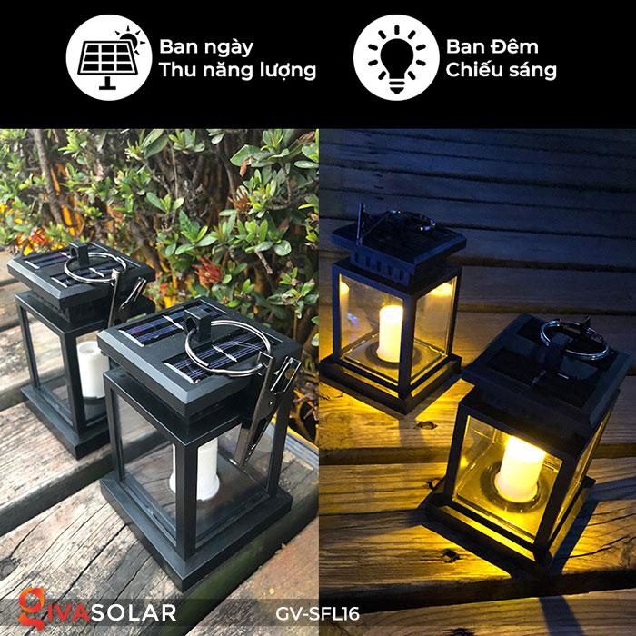 Đèn lồng trang trí năng lượng mặt trời GV-SFL16 1