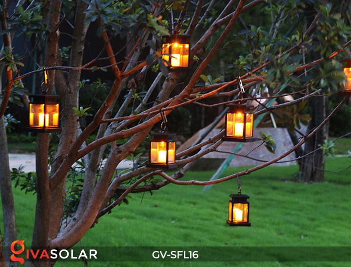 Đèn lồng trang trí năng lượng mặt trời GV-SFL16 12