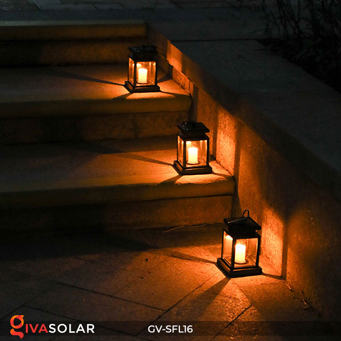 Đèn lồng trang trí năng lượng mặt trời GV-SFL16 8